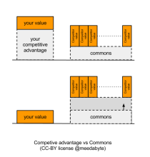 Commons Vs Competitive Advantage