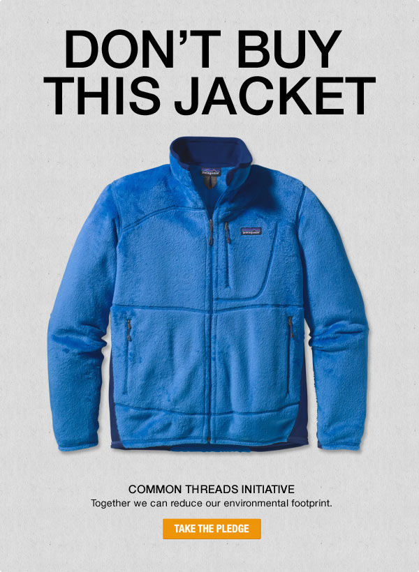 Patagonia, Don't Buy This Jacket