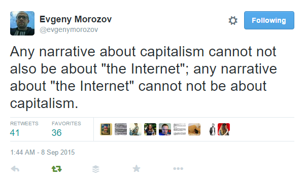 morozov on capital and the internet